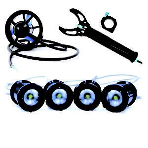 Thrusters, Actuators & Lights